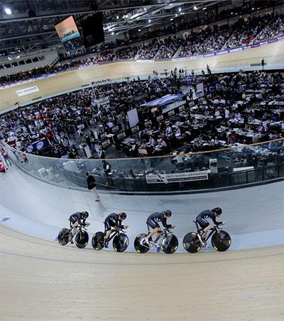 New Zealand Beats Britain in Men's Pursuit Final