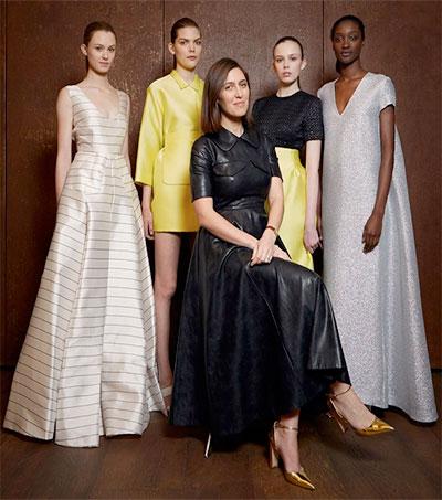 Emilia Wickstead on BFC/Vogue Designer Fashion Fund Shortlist