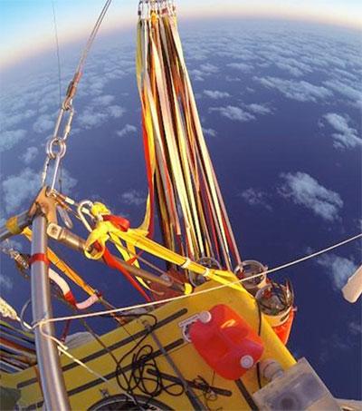 Spiderways Plots with Helium Balloon Record-Breakers