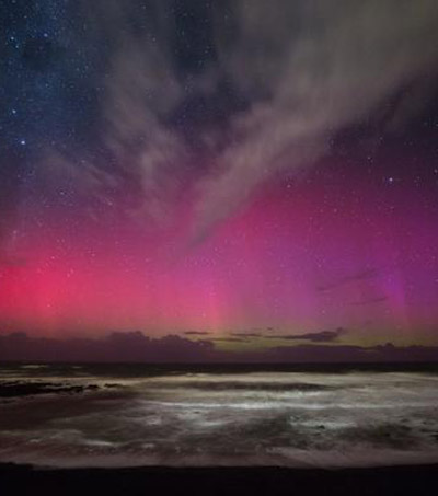 Aurora Australis Lights Up Southern Sky In Sensational Display
