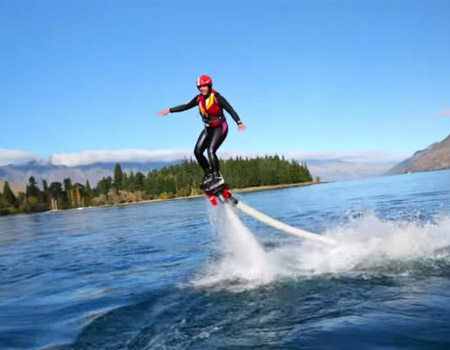 Living a Kiwi Life – Ep. 35 – Flyboard Queenstown