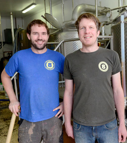 Scott Baigent's Eight Degrees Brewing Increases Capacity