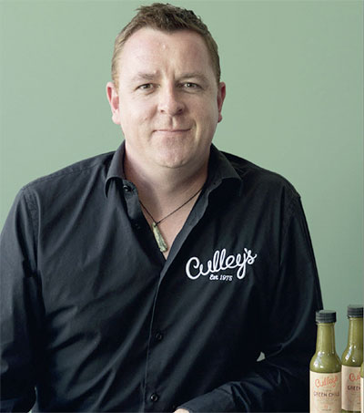 Chilli Head Chris Cullen Concocts New Sauce for NY Expo