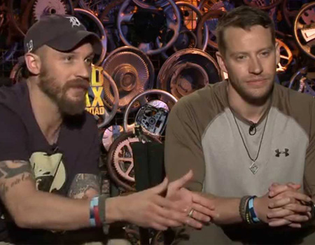 Mad Max: Fury Road – Tom Hardy and Jacob Tomuri Interview