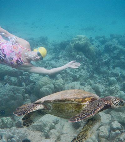 Open Water Swim Accolade for Adventurer Charlotte Brynn