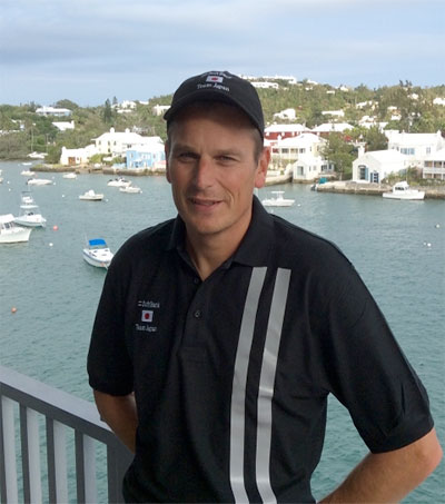 Dean Barker to Lead Japan's America's Cup Team