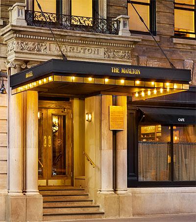 Sean MacPherson's Marlton One of NY's Hippest Hotels