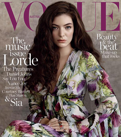 Lorde – the July Cover Star of Vogue Australia