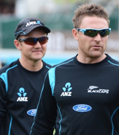 McCullum and Hesson Honoured for New Zealand Success