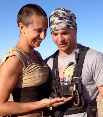 New Zealand Stunt Double Falls in Love at Mad Max Fury Road Set