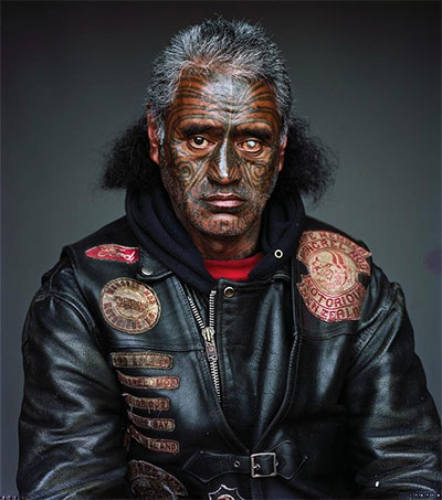 Jono Rotman's Mongrel Mob Portraits a Big Deal