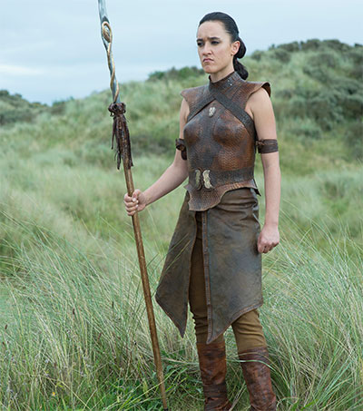 Keisha Castle-Hughes Thinks Big for Warrior Role