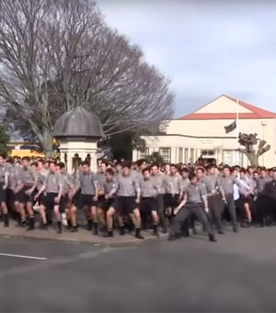 School Performs Emotional Haka at Teacher's Funeral