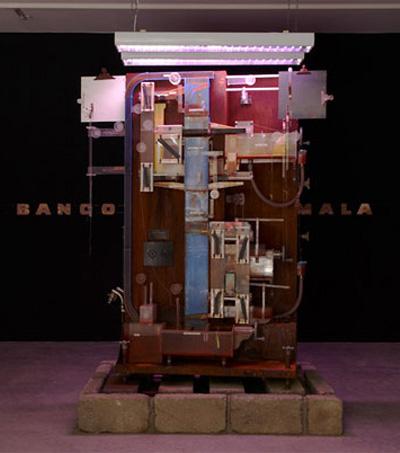 World Economy Model Inspires NZ artist Michael Stevenson in New York exhibit