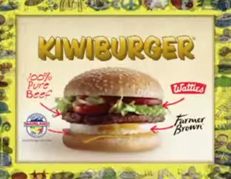 Original Kiwiburger Advert