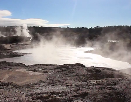 New Zealand Geothermal Attractions