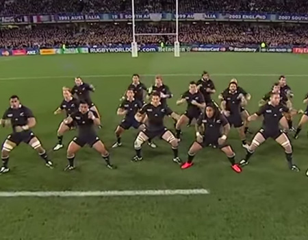 The Evolution of the New Zealand All Blacks Haka
