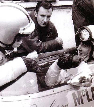 McLaren Stalwart, Kiwi Phil Kerr