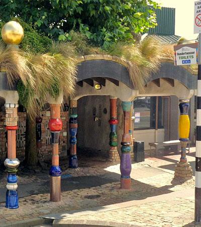 Vienna's Hundertwasserhaus Sister Loo