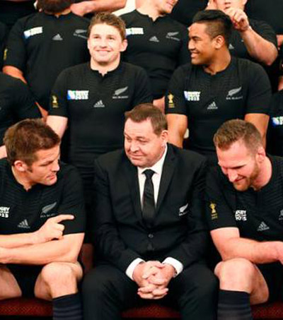 All Blacks Depart for England to Defend Their Title