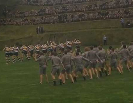 New Plymouth Boys High Scool Haka