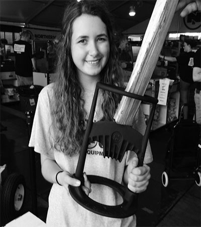 Teen Ayla Hutchinson Impresses at US State Fair