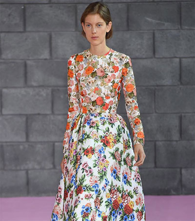 Emilia Wickstead Delivers Her Best Collection Yet