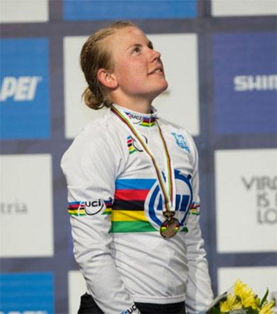 Linda Villumsen Wins Women's World Time Trial Title