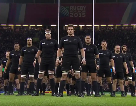 Haka All Blacks New Zealand vs France – Rugby World Cup