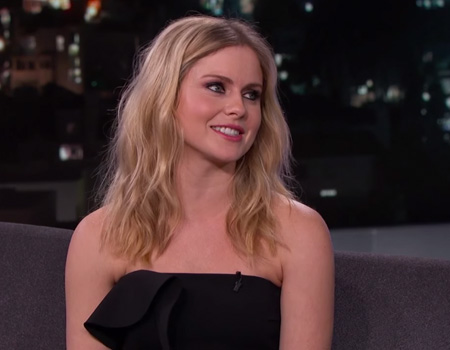 Rose McIver is a Glamorous Zombie – Jimmy Kimmel Live