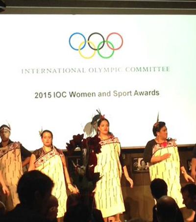 New Zealand Olympic Committee Win IOC Women in Sport World Trophy