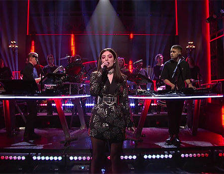 Disclosure – Magnets ft. Lorde  (Live on SNL)