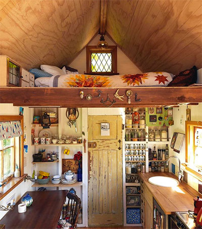 Tiny House Fits Lily Duval to a T