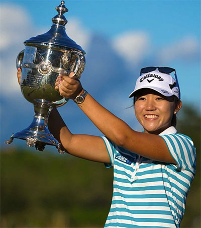 Golfing Star Lydia Ko Picks up Another Trophy