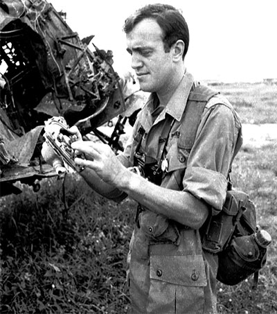 Peter Arnett at Vietnam's First Major Battle