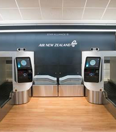 Air New Zealand Introduces World First Biometric Bag Drop