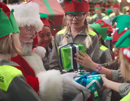 Santa's Workshop – Air New Zealand Christmas Surprise