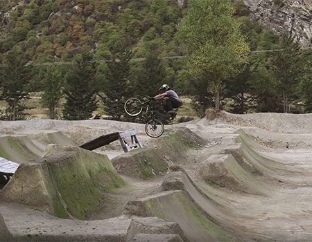 Cam McCaul & R-Dog Mountain Biking