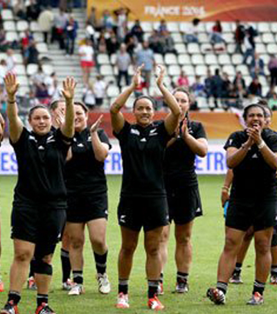 New Zealand Top Women's World Rankings