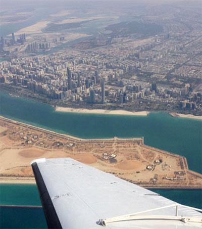 Mike Anstis Flies for Rain over Middle East Desert