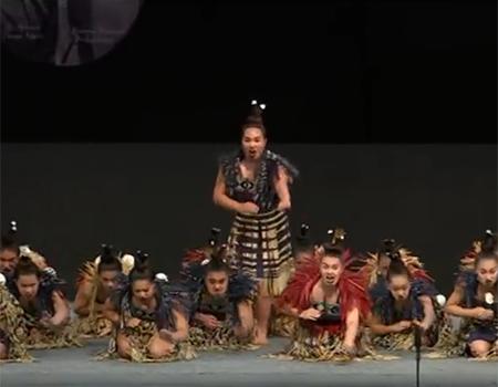 """Kahurangi ki Maungawhau – Haka """"Te Tira Haere"""""""
