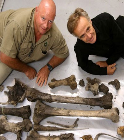 South Canterbury Contractors Unearth Moa Bones