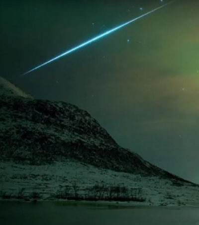 Meteor Shines Bright Green Over New Zealand