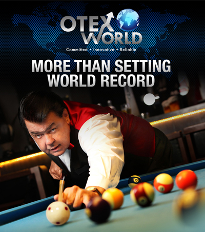Pool Sharpshooter Rocky Lane Signed By OTEX World Corp