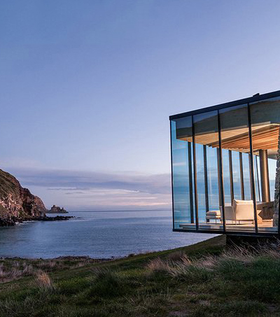 Remote Eco-Cabin – A Gorgeous Seaside Getaway