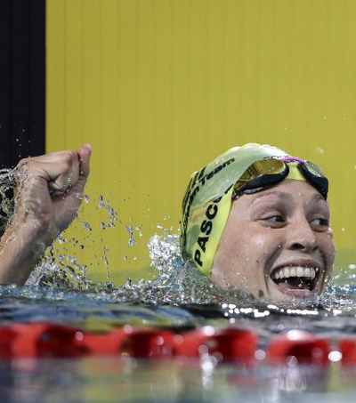 Sophie Pascoe Lowers Own World Record