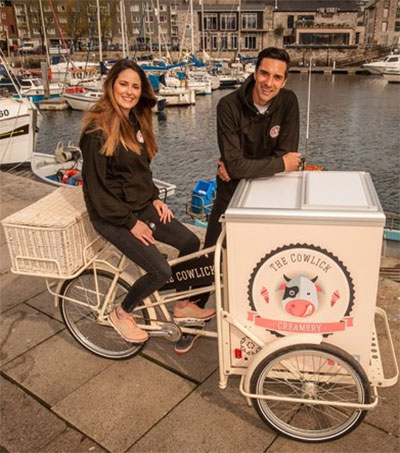 Rory Fallon's Ice Cream Business Hits Plymouth