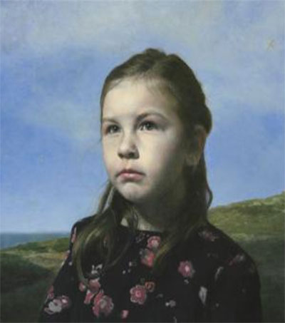 Simon Richardson's Mila Portrait off to Top UK Show