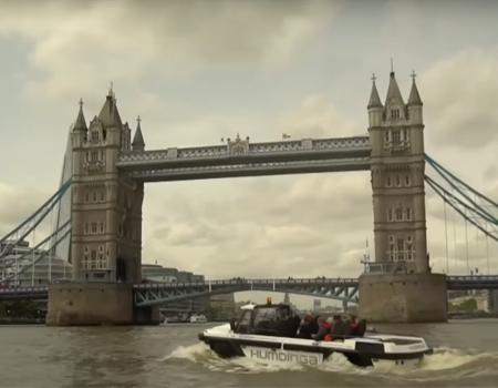 World's First High Speed 'Amphitruck' – Humdinga
