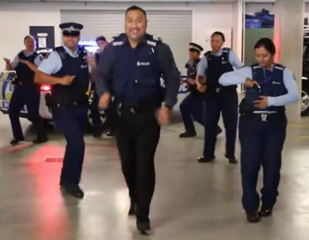 NZ Police Running Man Challenge